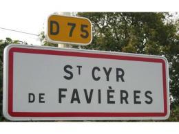 Achat Terrain St Cyr de Favieres