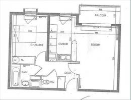 Location Appartement 2 pièces Orvault