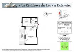 Achat Appartement 2 pièces Entzheim