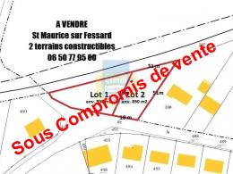 Achat Terrain St Maurice sur Fessard
