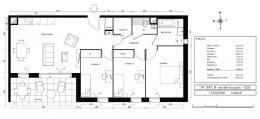 Achat Appartement 4 pièces Fontaines-sur-Saone