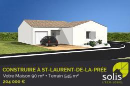 Achat Maison+Terrain 4 pièces St Laurent de la Pree