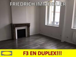Location Appartement 3 pièces Commercy