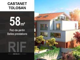 Achat Appartement 3 pièces Castanet Tolosan