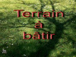 Achat Terrain Courtenay