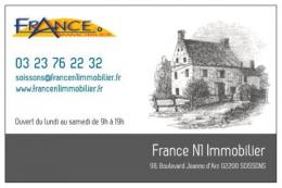 Achat Maison 3 pièces Soissons