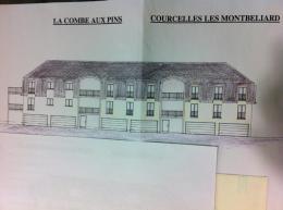 Achat Appartement 4 pièces Courcelles les Montbeliard