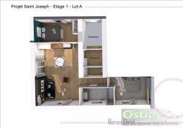 Achat Appartement 3 pièces St Joseph