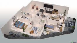 Achat Appartement 4 pièces Aigues Mortes