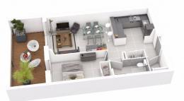 Achat Appartement 2 pièces Ste Lucie de Porto Vecchio