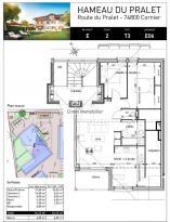 Achat Appartement 3 pièces Cornier