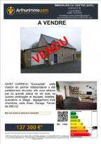 Achat Maison 5 pièces St Carreuc