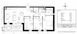 Achat Appartement 4 pièces Fontaines sur Saone