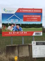 Achat Terrain Marcilly sur Vienne