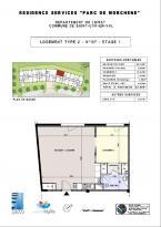 Achat Appartement 2 pièces St Cyr en Val