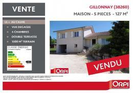 Achat Maison 5 pièces Gillonnay