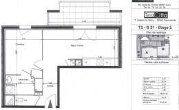 Location Appartement 2 pièces Francheville
