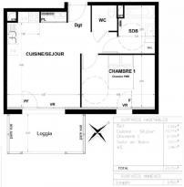 Achat Appartement 2 pièces Domene
