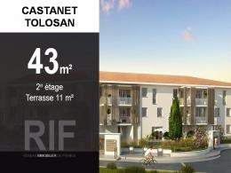 Achat Appartement 2 pièces Castanet Tolosan