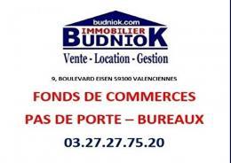 Achat Commerce Valenciennes