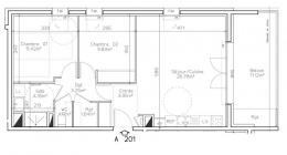 Achat Appartement 3 pièces Le Touvet