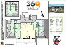 Achat Appartement 4 pièces Gresy sur Aix