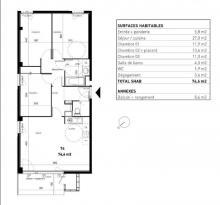 Achat Appartement 4 pièces Sathonay Village