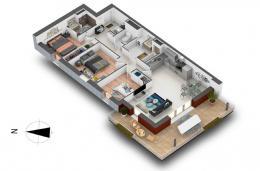 Achat Appartement 4 pièces Cognin