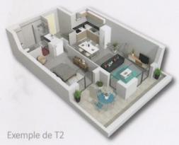 Achat Appartement 2 pièces Le Thor