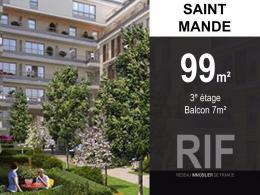 Achat Appartement 5 pièces St Mande