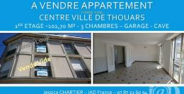 Achat Appartement 4 pièces Thouars