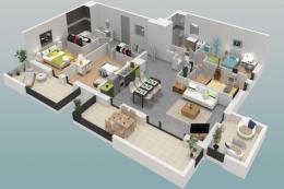 Achat Appartement 5 pièces St Jean de Gonville