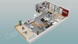Achat Appartement 4 pièces St Jean de Gonville