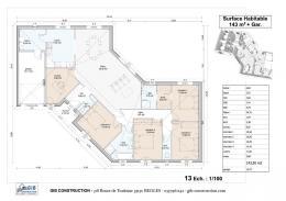 Achat Maison+Terrain 6 pièces Beychac et Caillau