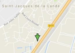 Location studio St Jacques de la Lande