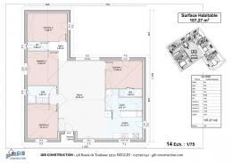 Achat Maison+Terrain 5 pièces Beychac et Caillau