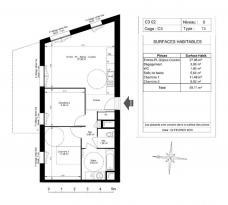 Achat Appartement 3 pièces Mions