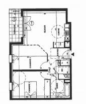 Location Appartement 2 pièces St Jean de la Ruelle