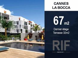 Achat Appartement 3 pièces Cannes la Bocca