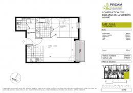 Location Appartement 2 pièces Capinghem