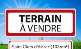 Achat Terrain St Ciers d Abzac