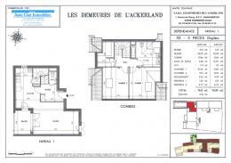 Achat Appartement 3 pièces Furdenheim