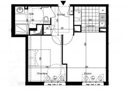 Achat Appartement 2 pièces Courbevoie