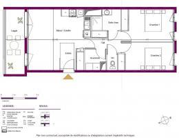 Achat Appartement 3 pièces Le Teich