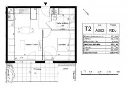 Achat Appartement 2 pièces Meyzieu