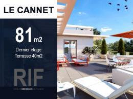 Achat Appartement 4 pièces Le Cannet