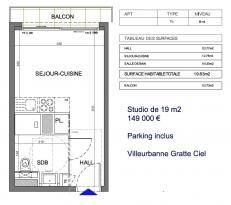 Achat studio Villeurbanne