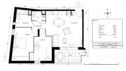 Achat Appartement 3 pièces Fontaines-sur-Saone