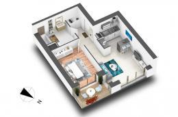 Achat Appartement 2 pièces Cognin