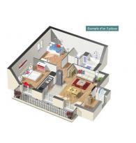 Achat Appartement 3 pièces Puiseux-en-France
